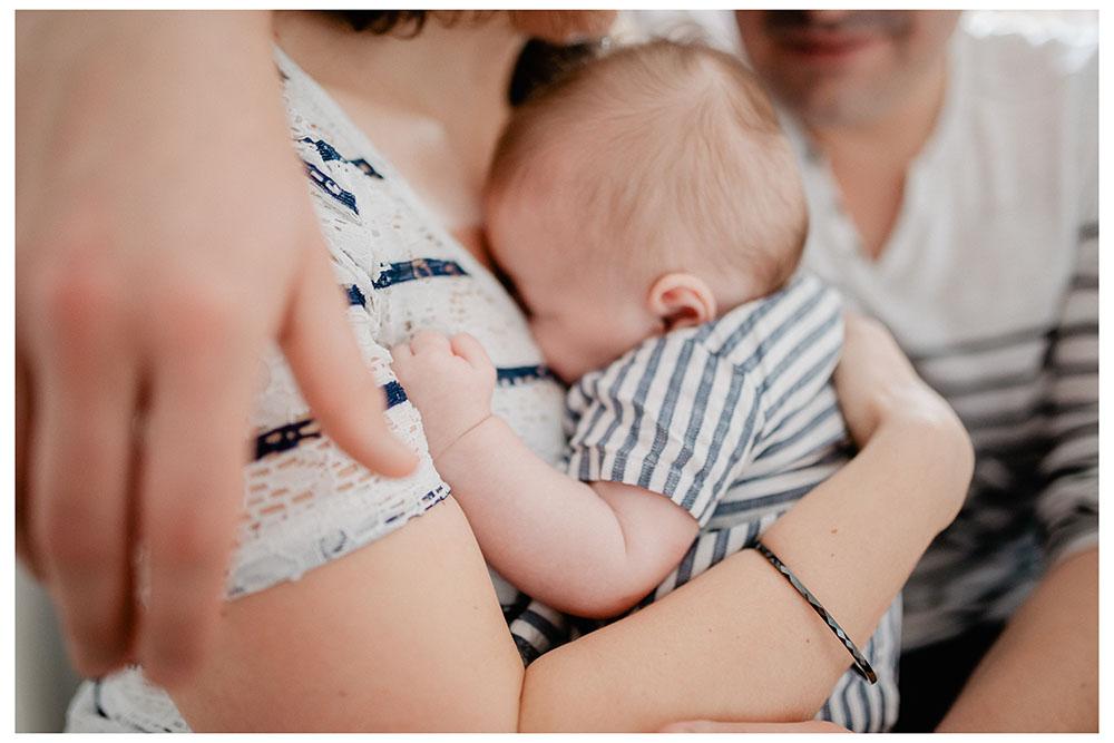 photographe bébé maison