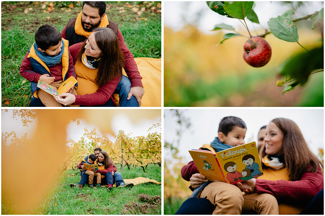 séance maternité automne