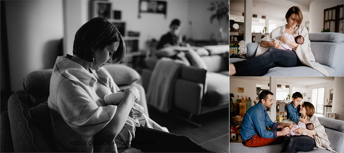 photographe bébé à la maison